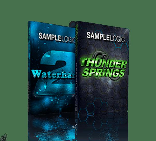 Waterharp 2 & Thundersprings Bundle by Sample Logic