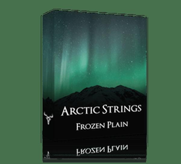 arctic by frozen plain
