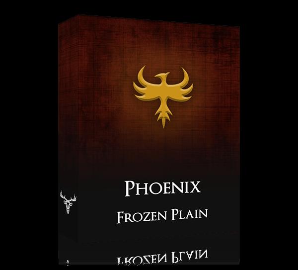 phoenix by frozen plain