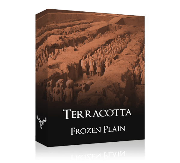 Terracotta by Frozen Plain