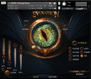 Evolution: Dragon UI