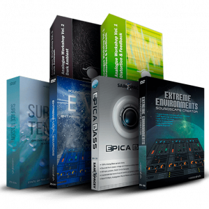 Cinematic Synth Bundle by Zero-G