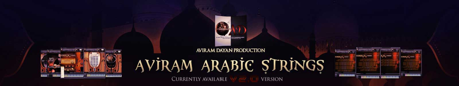 aviram arabic strings