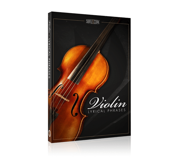 lyrical violin phrases