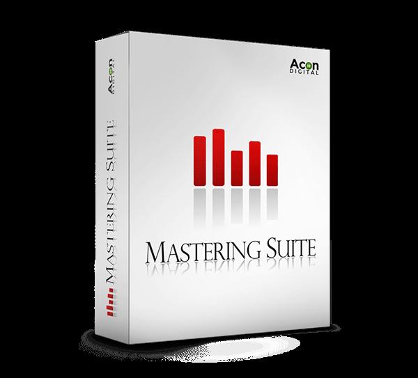 mastering suite by acon digital