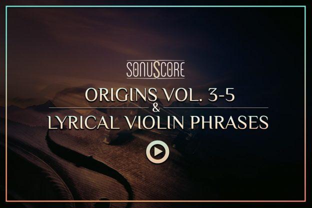 origins vol 3-5 and lyrical violin phrases