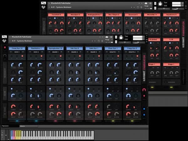klusterkitt bundle interface screenshots