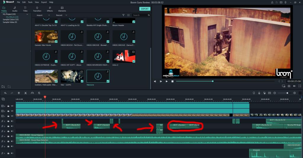 Take a Shot with Boom Gun SFX - Audio Plugin Deals