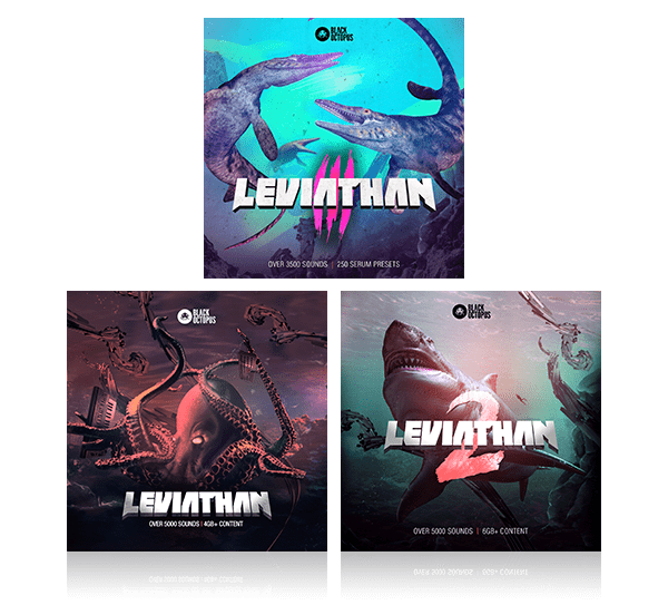 leviathan bundle from black octopus