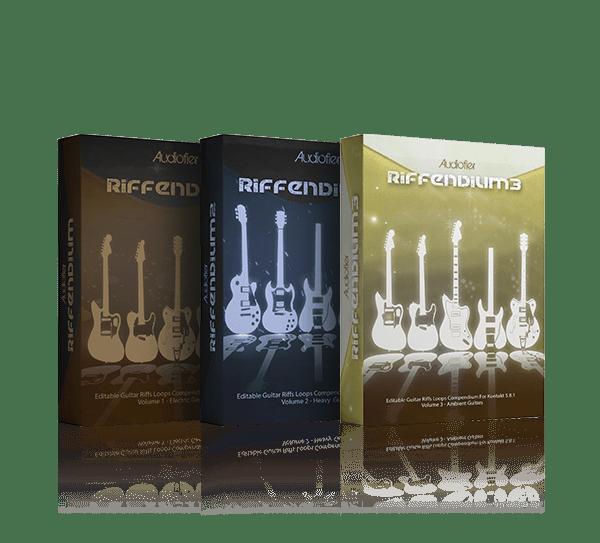 Riffendium Bundle by Audiofier
