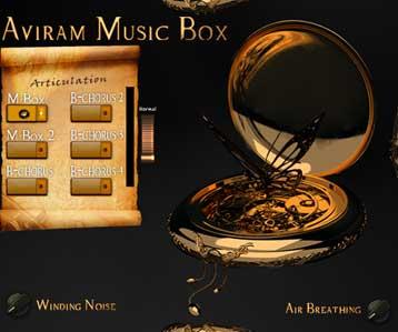 aviram music box iinterface