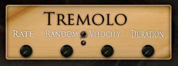 Aviram Music Box - Tremolo Interface