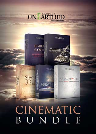 cinematic bundle by unearthed sampling
