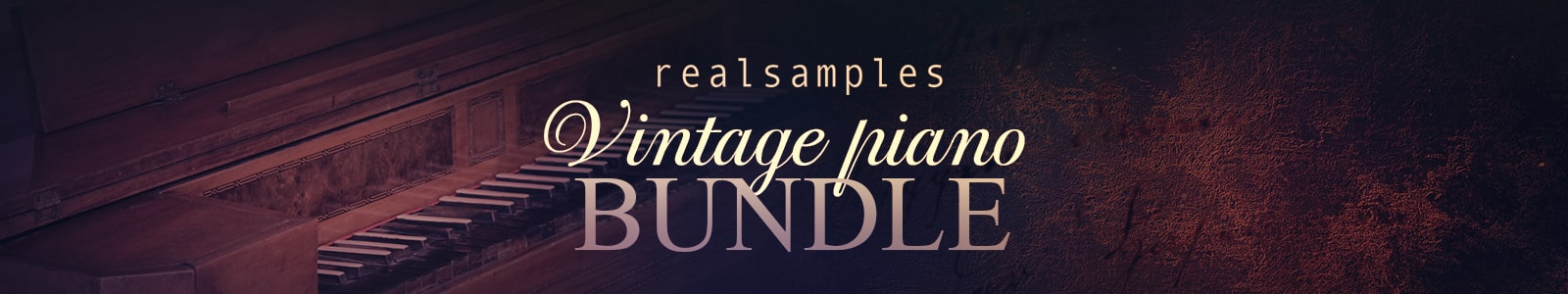 VINTAGE PIANO BUNDLE