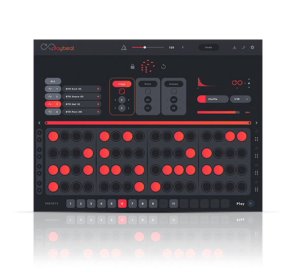 Playbeat by Audiomodern