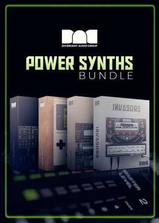 power synths bundle by divergent audio group