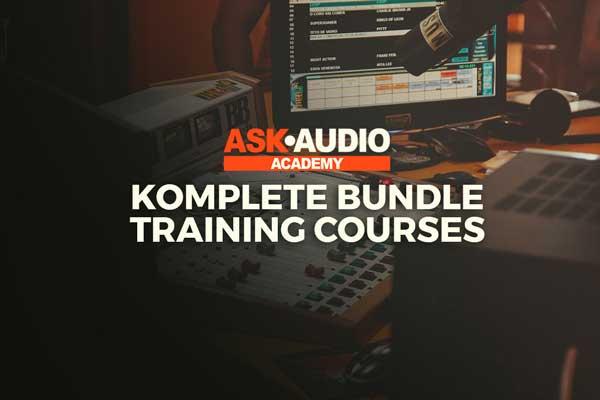 Ask Audio NI Komplete Training Course Bundle