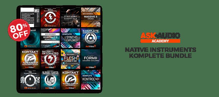 ask audio academy komplete bundle