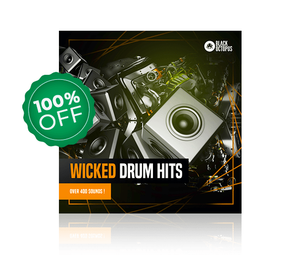 wicked drums by black octopus