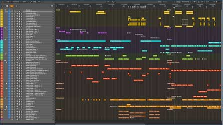 handy project organisation shortcuts for logic pro x