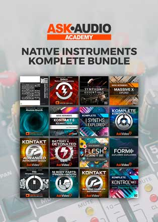 ask audio academy komplete bundle