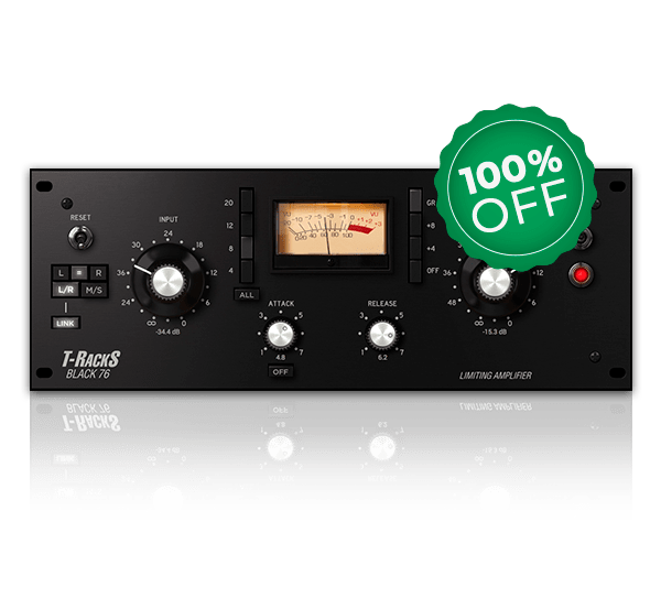 Black 76 Limiting Amplifier FET Compressor/Limiter by IK Multimedia