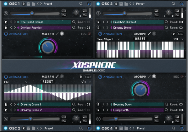 XOSHPERE BY SAMPLE LOGIC