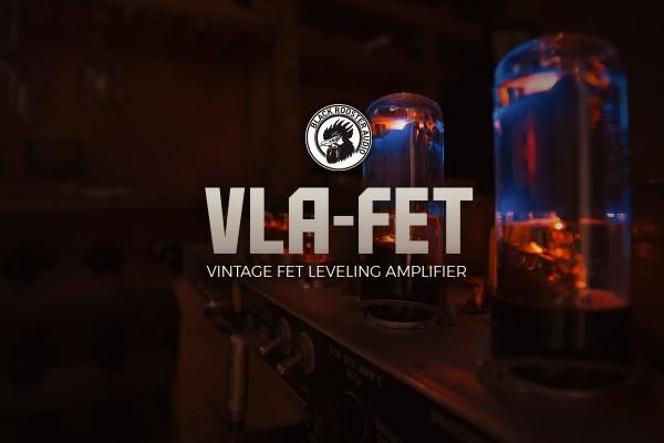 VLA-FET - VINTAGE FET LEVELING AMPLIFIER by Black Rooster Audio