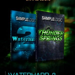 waterharp 2 and thunder springs bundle by sample logic