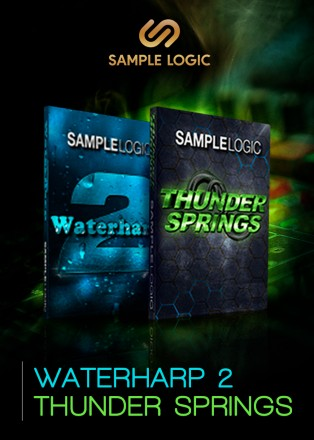 waterharp 2 and thunder springs bundle by sample logic