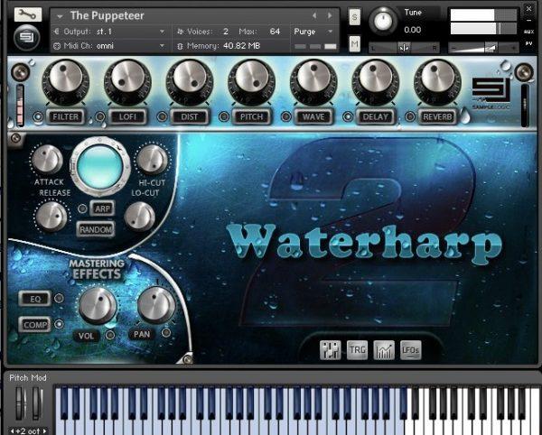 waterharp 2 by sample logic