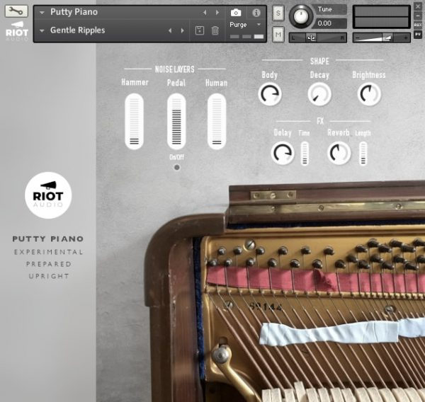 putty piano by riot audio
