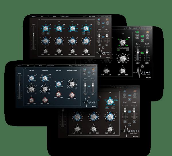 Equalizer Bundle by Mogwai Audio Tools