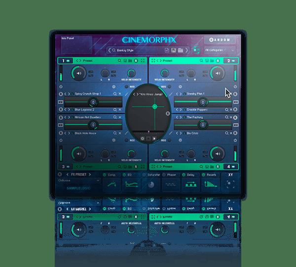 Cinemorphx for Kontakt Retail by Sample Logic