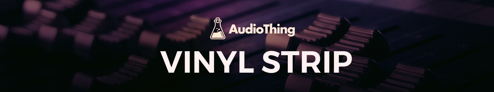 vinyl strip by audiothing