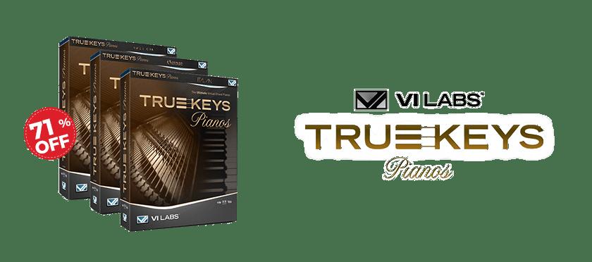 True Keys Piano Bundle by VI Labs