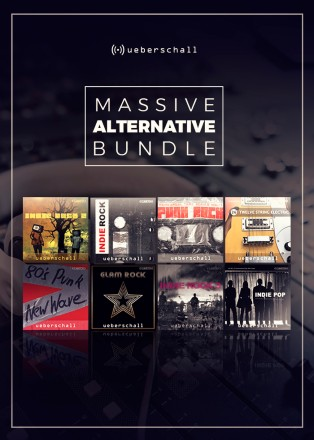 massive alternative bundle by ueberschall