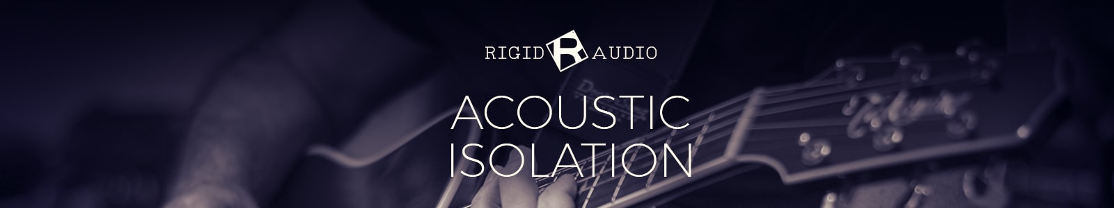 acoustic isolation by rigid audio