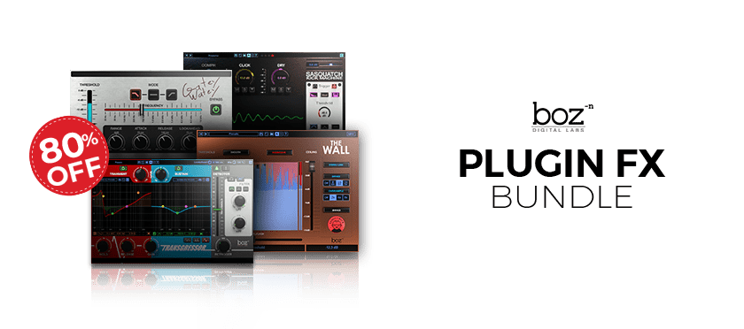 Plugin FX Bundle by Boz Digital Labs