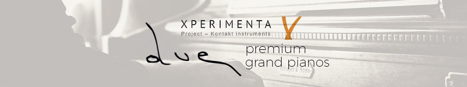 due premium grand pianos
