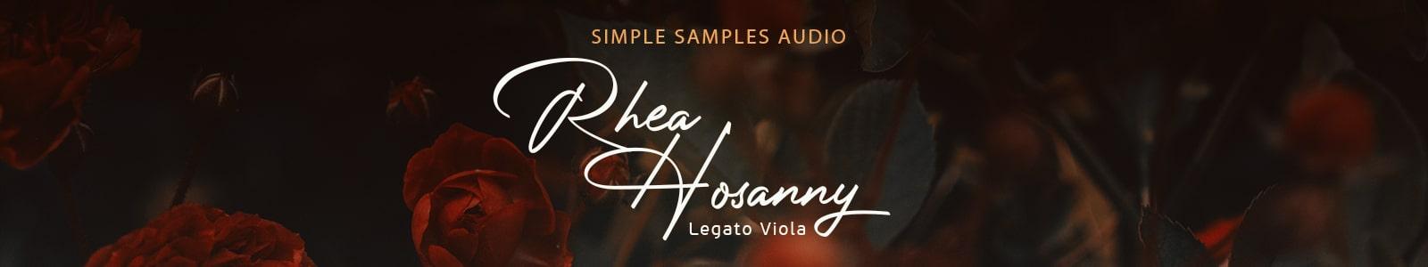 rhea hosanny legato viola