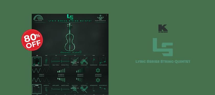 Lyric Series String Quintet by Kirk Hunter Studios