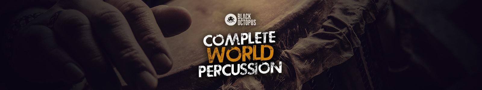 complete world percussion bundle