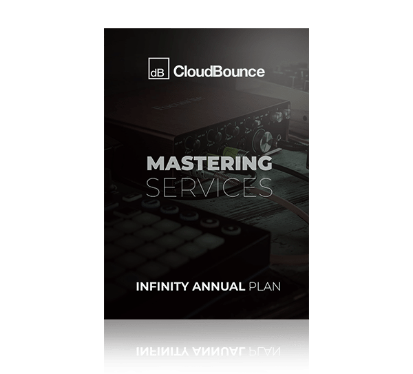 Infinity Annual Mastering Services Plan by Cloudbounce