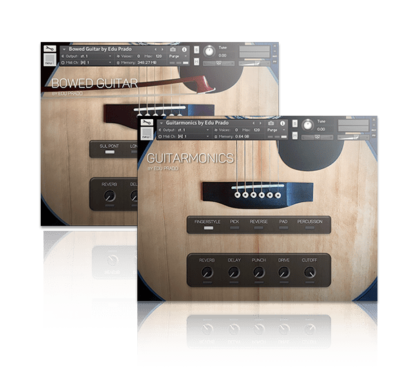 Extended Guitar Bundle by Edu Prado Sounds