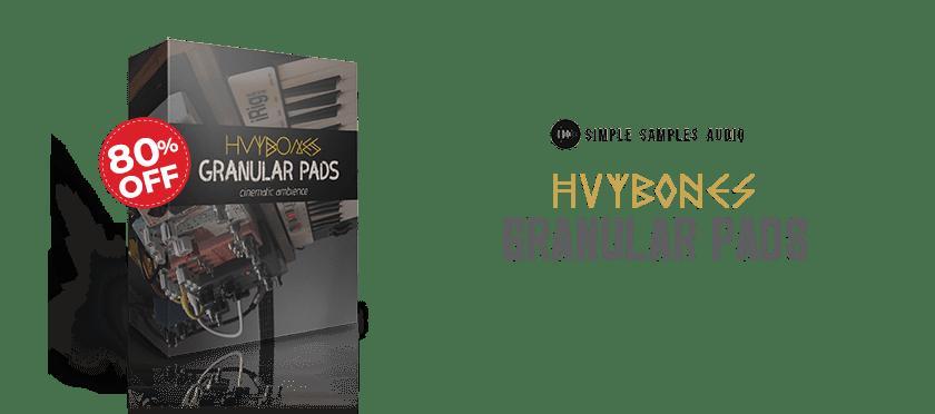 hvybones granular pads by simple samples audio