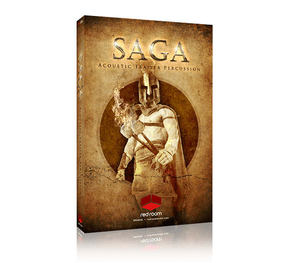 Saga Acoustic Trailer Percussion by Red Room Audio