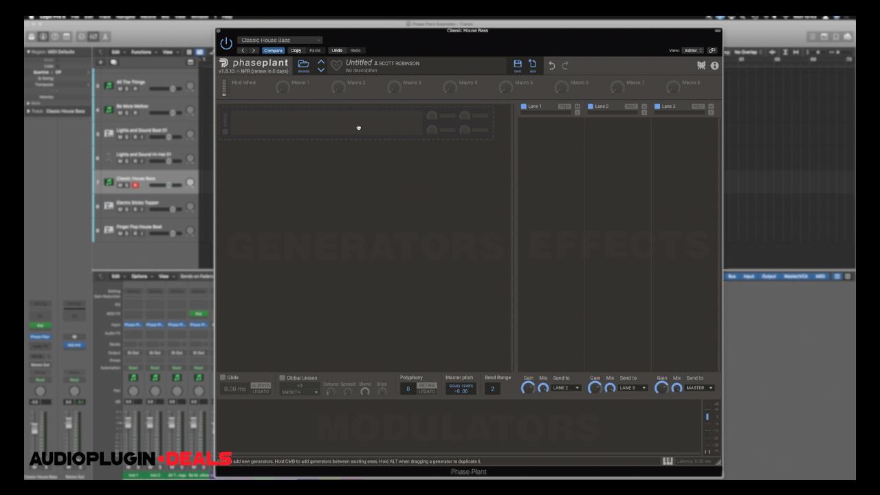 Phase Plant Screenshot
