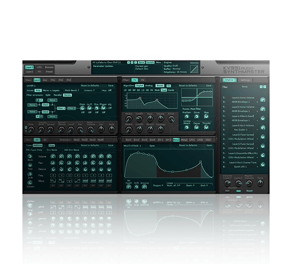 Synthmaster 2.9 by KV331 Audio