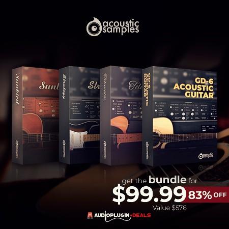 AcousticSamples 4-in-1 Guitar Bundle